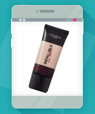 The Product: L'Oreal Paris Infallible Pro-Matte Foundation, $10.99