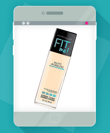 The Product: Maybelline Fit Me Matte + Poreless, $7.99