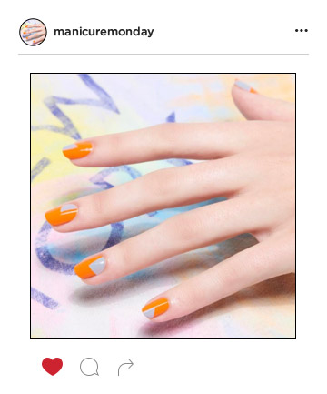 Mani of the Week: Tangerine Dreams