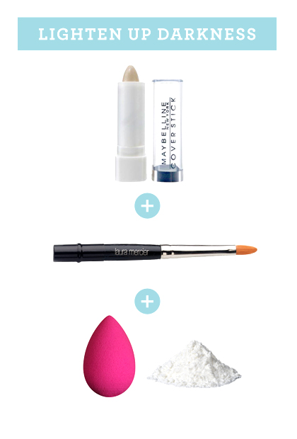 How to conceal darkness around your lips