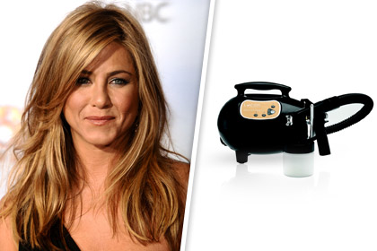 Jennifer Aniston's Spray Tan