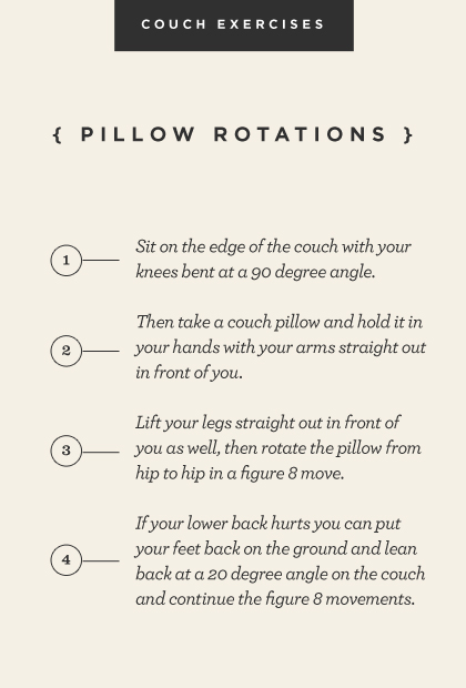 Pillow rotations