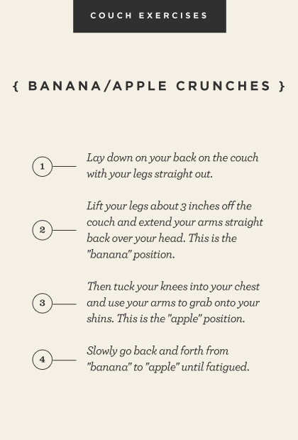 Banana/apple crunches