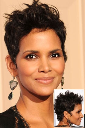 Oval: Halle Berry