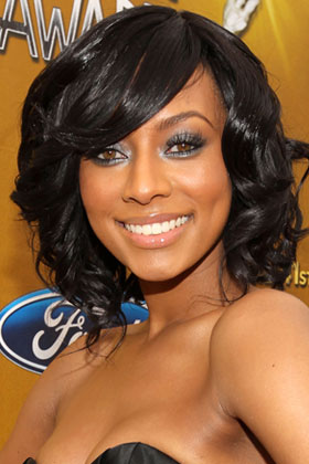 oval keri hilson best curly hairstyles for your face