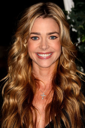 Terrific Square Denise Richards Best Curly Hairstyles For Your Face Shape Short Hairstyles Gunalazisus