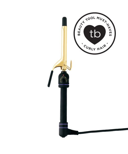Small barrel curling iron