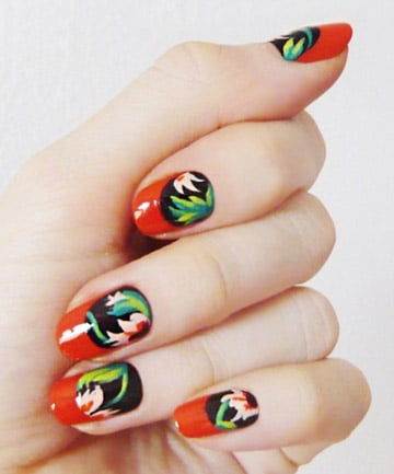 flower nail art 27 cute nail designs you need to copy