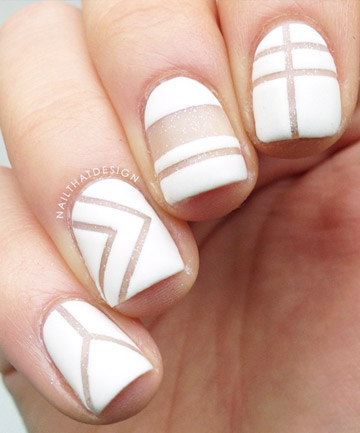 Negative Space Nail Art, 27 Cute Nail Designs You Need to Copy ...