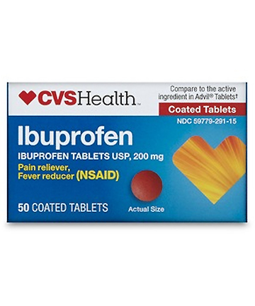 CVS Health Ibuprofen 200mg, $3.52
