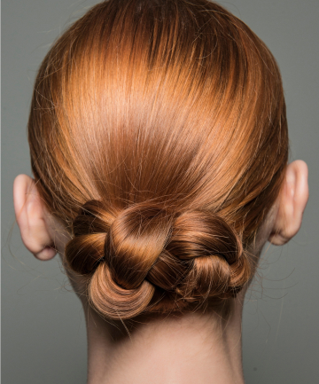 Braided Bun 19 Hairstyles To Wear To Work When It S Hot Af Outside