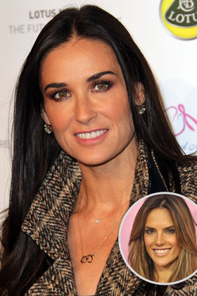 The target: Demi Moore