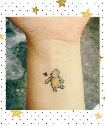 Winnie the pooh tattoo 17 disney tattoos that 39 ll take you for Winnie the pooh tattoo