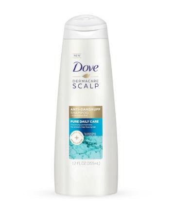Best Dandruff Shampoo No. 13: Dove Dermacare Clean & Fresh Anti-Dandruff Shampoo, $5.59