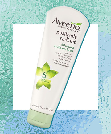 Aveeno Positively Radiant 60 Second In-Shower Facial, $7.99