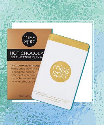 Miss Spa Hot Chocolate Self Heating Creme Mask, $6.99