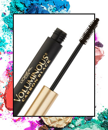 L'Oreal Voluminous Carbon Black Mascara, $7.25, in Carbon Black