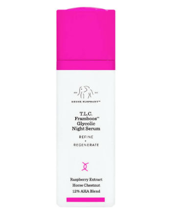 Drunk Elephant T.L.C. Framboos Glycolic Night Serum, $90