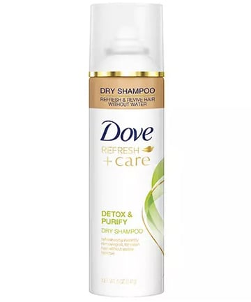 Wednesday: Dove Detox and Purify Dry Shampoo, $4.89