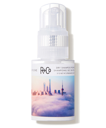 Tuesday: R+Co Skyline Dry Shampoo Powder, $36