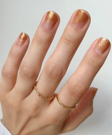 copper ombre 19 nail art ideas that are totally easy