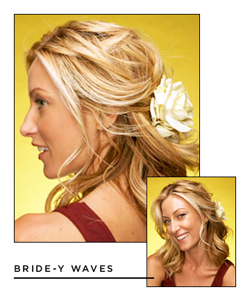 Easy Hairstyles for Long Hair: Bride-y Waves