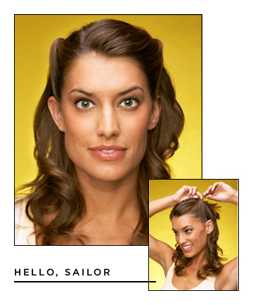 Easy Hairstyles for Long Hair: Hello, Sailor