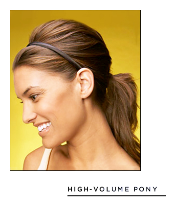 Pleasing Easy Hairstyles For Long Hair High Volume Pony 17 Hairstyles Short Hairstyles Gunalazisus