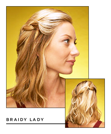 Easy Hairstyles for Long Hair: Braidy Lady