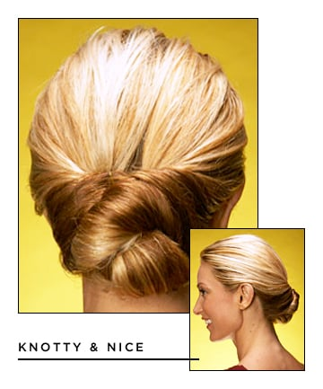 Easy Updos For Long Hair. Twisted Headband Updo Hairstyle