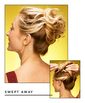 Easy Hairstyles for Long Hair: Swept Away