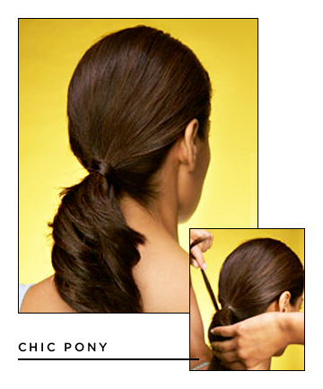 Easy Hairstyles for Long Hair: Chic Pony