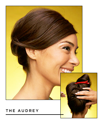Easy Hairstyles for Long Hair: The Audrey