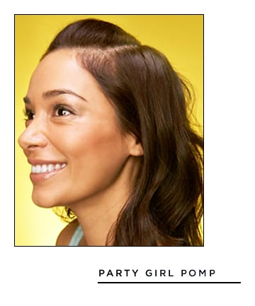 Easy Hairstyles for Long Hair: Party Girl Pomp