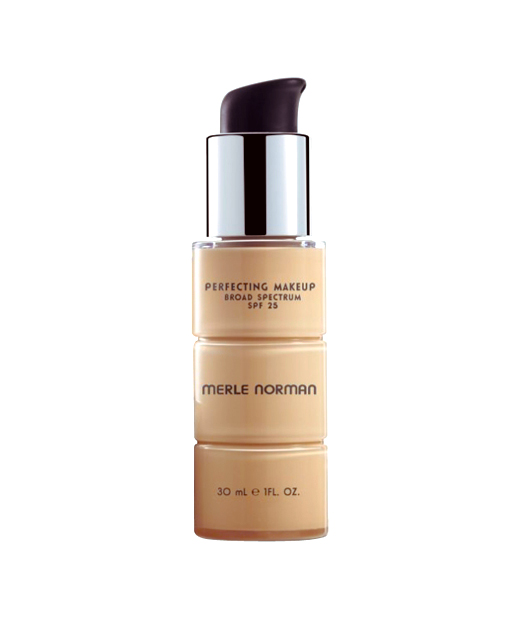 Best Foundation No. 7: Merle Norman Perfecting Makeup Broad Spectrum SPF 25, $30