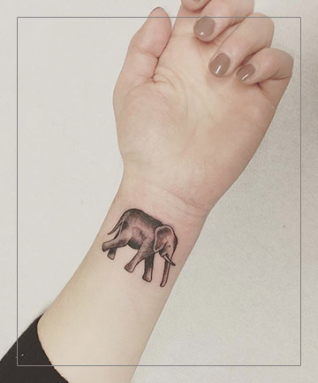 Image of: Lion Tattoo Total Beauty The Tiny Animal Tattoos Youll Want Inked Asap