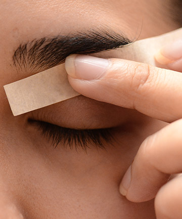 Wax On, Wax Off, Want to Wax Your Eyebrows at Home? Don't