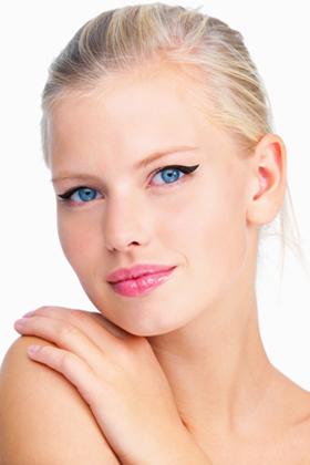 intermediate eyeliner look winged tip  how to apply
