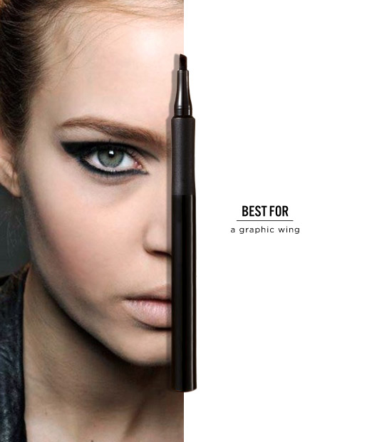 Slanted: Laura Geller Eye Calligraphy Liquid Eyeliner in Slanted Tip, $20