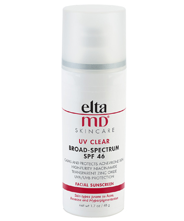 Sunscreen: EltaMD UV Clear Broad-Spectrum SPF 46, $33
