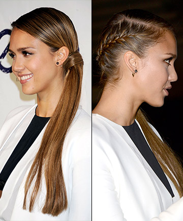 Faux Undercut Braided Ponytail 16 Braided Ponytails Every Cool Girl