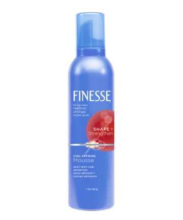 Best Curly Hair Product No. 10: Finesse Self Adjusting Mousse, Curl Defining, $4.50