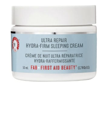 Best Facial Firming Product No.  11: First Aid Beauty Ultra Repair Hydra-Firm Sleeping Cream, $38