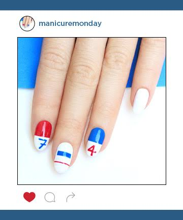 Mani of the Week: 4th of July Nails