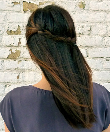 The Easy Six Step Half French Braid You Can Totally DIY