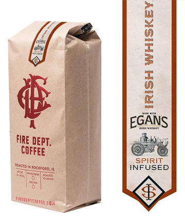 Fire Department Coffee Irish Whiskey-Infused Coffee, $19.99