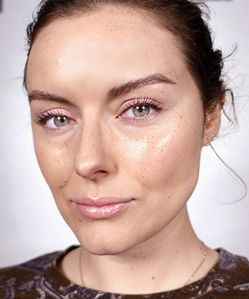 Get Ethereal With Glitter Freckles