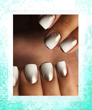 Pure Gold How To Get Ombre Nails And 19 Stunning Ways To Rock Them Page 18