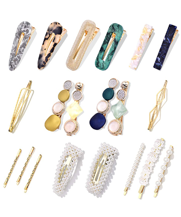 Cehomi Fashion Korean Style Pearls Hair Barrettes, $9.49