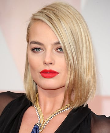 best hair styles for hair margot robbie thickness and volume with the best 8184
